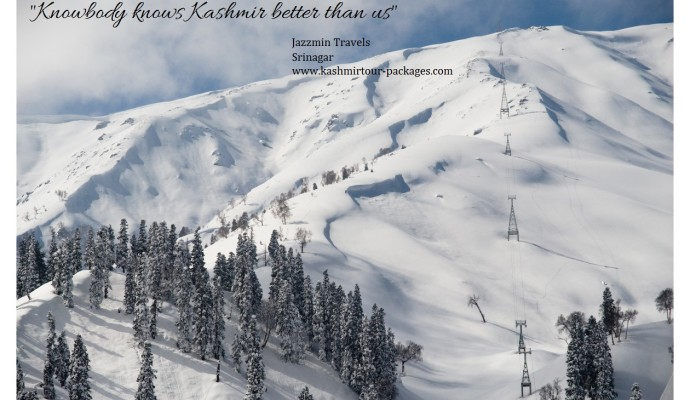 Get amazed with Kashmir holiday tour packages from Jazzmin Travels