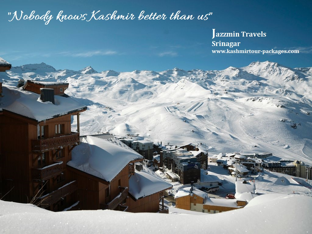 Kashmir - Paradise for Honeymoon Couples.