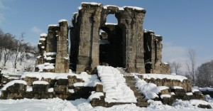 Ruins and incredible architecture of Martand Sun temple in Anantnag attracts thousands of tourists every year