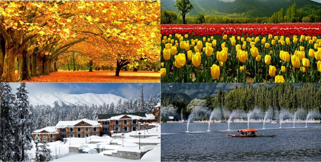All seasons of Kashmir